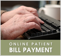 Online patient bill payment